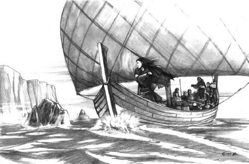 Octavia_at_sea